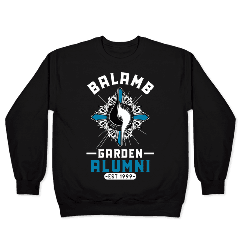 Balamb Garden Alumni Final Fantasy Parody Pullover