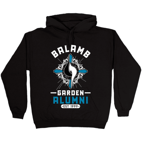 Balamb Garden Alumni Final Fantasy Parody Hooded Sweatshirt