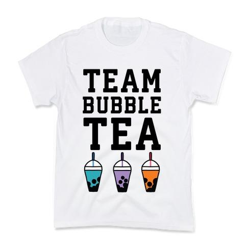 Team Bubble Tea Kids T-Shirt