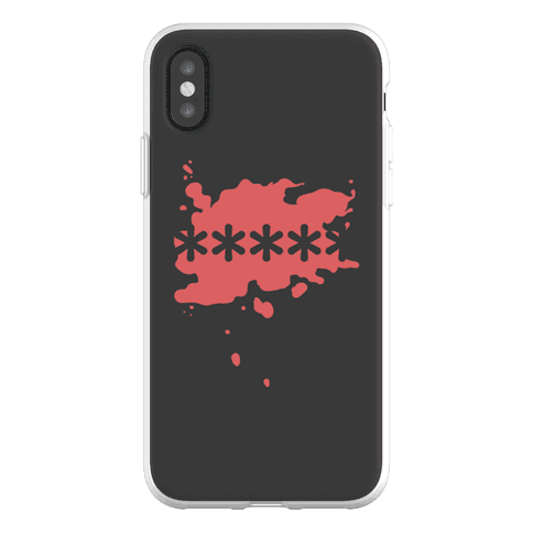 Futaba Red Splatter Phone Flexi-Case
