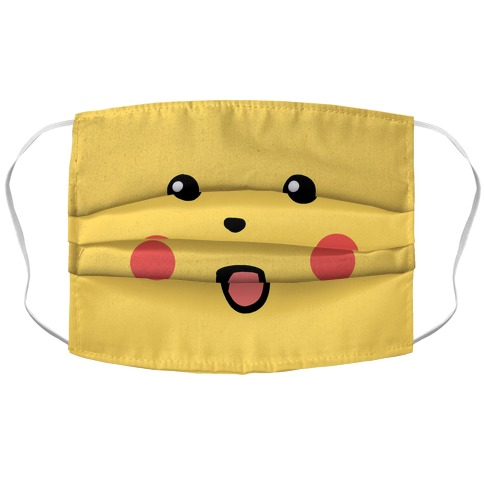 Pika-Shook Face Mask Cover