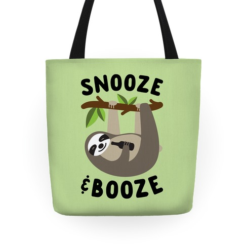 Snooze & Booze Tote