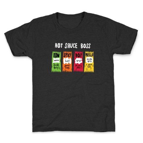 Hot Sauce Boss Kids T-Shirt