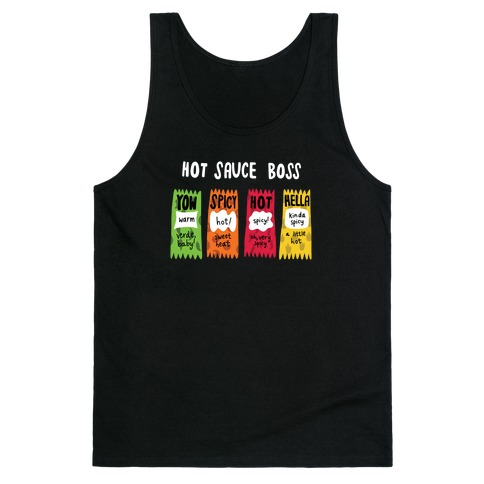 Hot Sauce Boss Tank Top