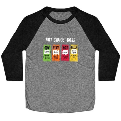 Hot Sauce Boss Baseball Tee