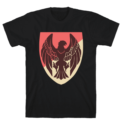 Black Eagles Crest - Fire Emblem Mens/Unisex T-Shirt