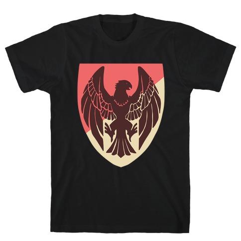 Black Eagles Crest - Fire Emblem T-Shirt