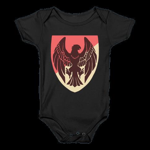 Black Eagles Crest - Fire Emblem Baby Onesy