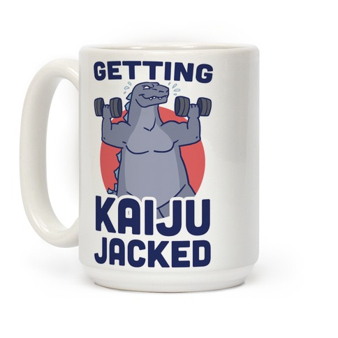 Getting Kaiju-Jacked Coffee Mug