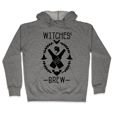 Witches' Brew Beer Hooded Sweatshirt