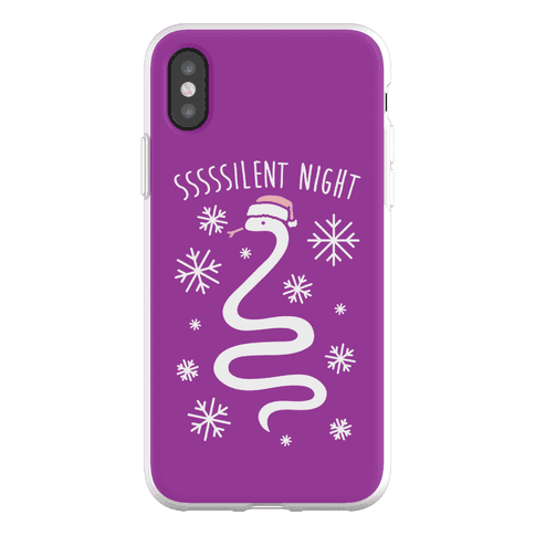 Sssssilent Night Snake Phone Flexi-Case