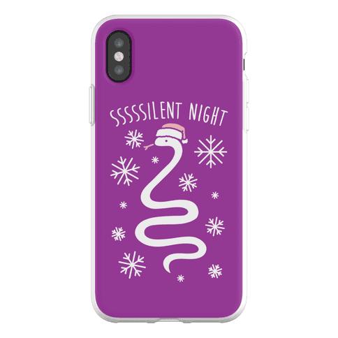 Sssssilent Night Snake Phone Flexi-Case