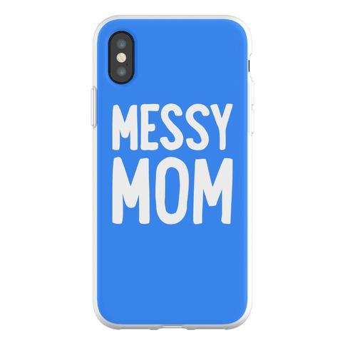 Messy Mom Phone Flexi-Case