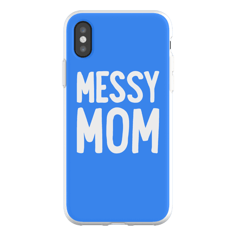 Messy Mom Phone Flexi-Case