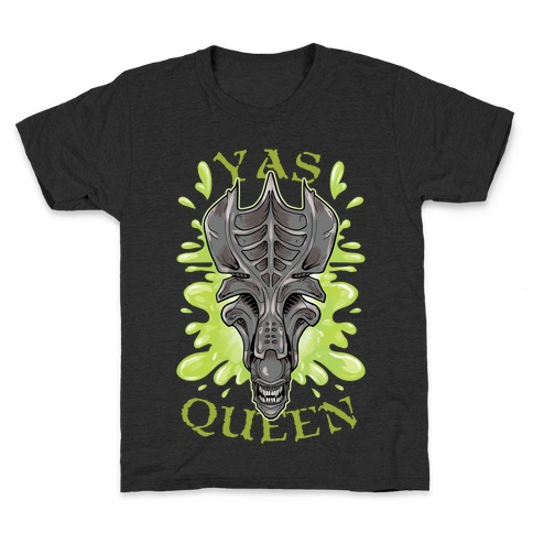 Yas Queen Xenomorph Kids T-Shirt