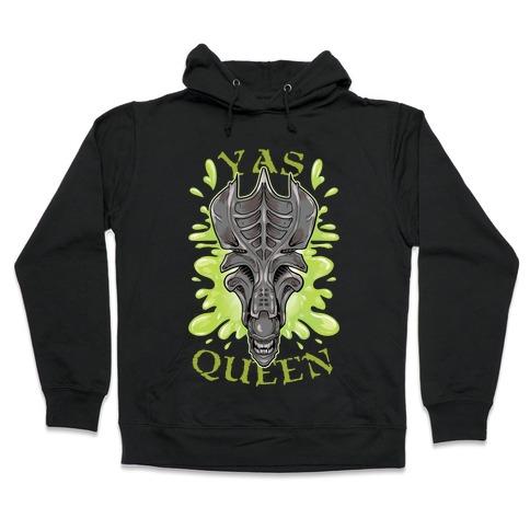 Yas Queen Xenomorph Hooded Sweatshirt