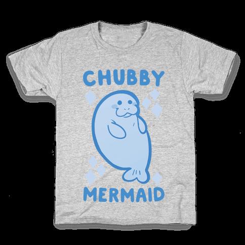 Chubby Mermaid Kids T-Shirt