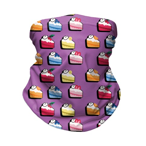 Fruit Cake Pattern Neck Gaiter
