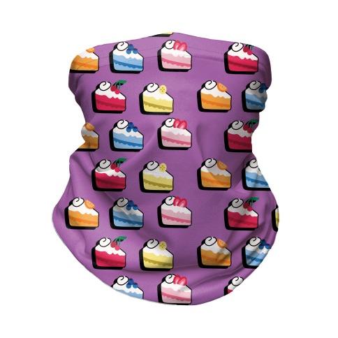 Fruit Cake Pattern Neck Gaiter
