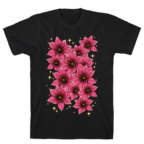 Poinsettia Bouquet T-Shirt