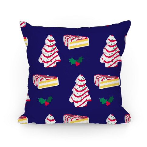 Holiday Tree Cake Pattern Pillow