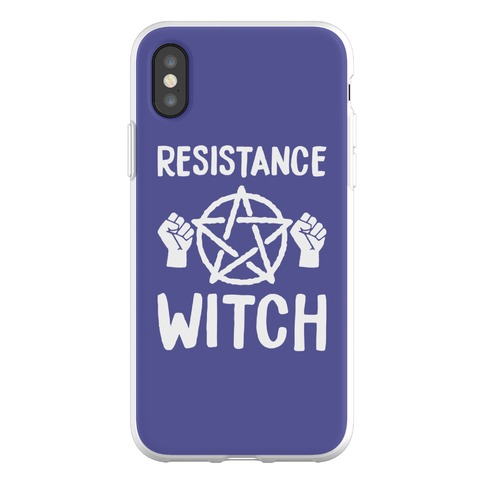 Resistance Witch Phone Flexi-Case