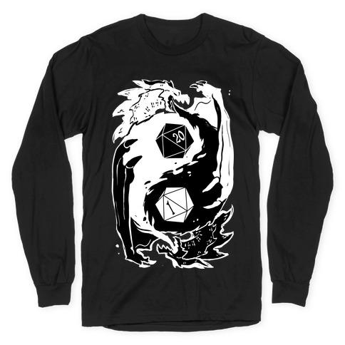Dungeons and Dragons Yin Yang Long Sleeve T-Shirt