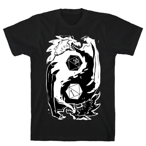Dungeons and Dragons Yin Yang T-Shirt