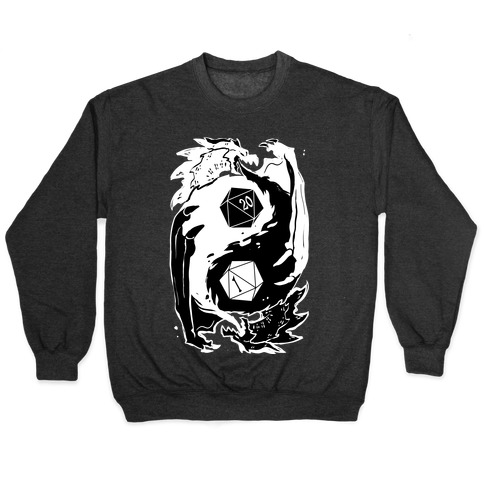 Dungeons and Dragons Yin Yang Pullover