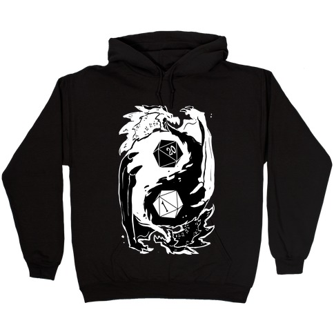 Dungeons and Dragons Yin Yang Hooded Sweatshirt