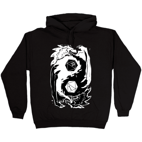 Dungeons and Dragons Yin Yang Hooded Sweatshirt