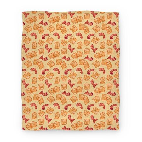 Cinnamon Shrimp Cereal Blanket
