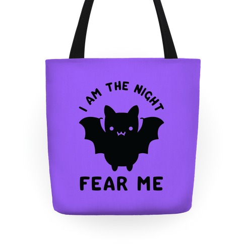 I Am The Night Fear Me Tote