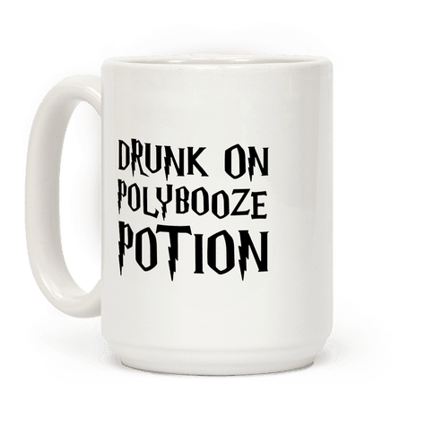 Drunk On Polybooze Potion Parody Coffee Mug
