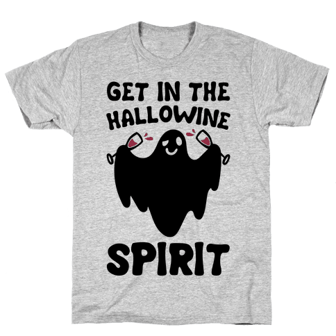 Get in The Hallowine Spirit Mens T-Shirt