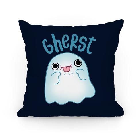Gherst Derpy Ghost Pillow