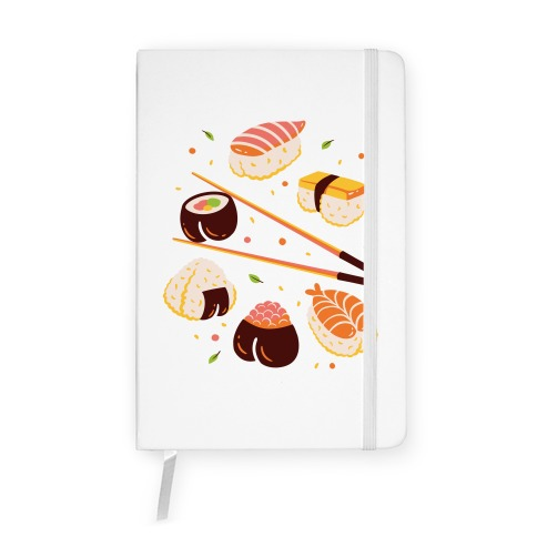 Subtle Sushi Booty Notebook