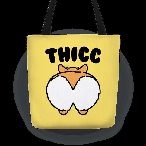 Thicc Corgi Butt Parody Tote