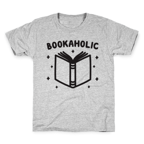 Bookaholic Kids T-Shirt