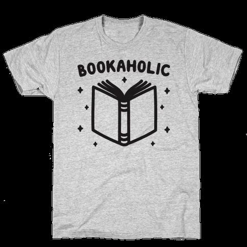 Bookaholic Mens T-Shirt