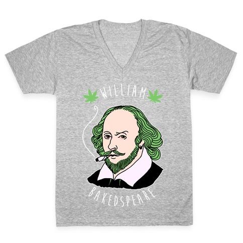 William Bakedspeare V-Neck Tee Shirt