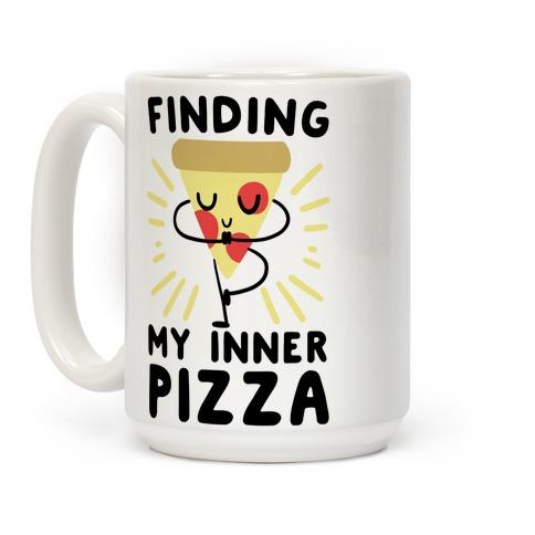 Finding My Inner Pizza Coffee Mug