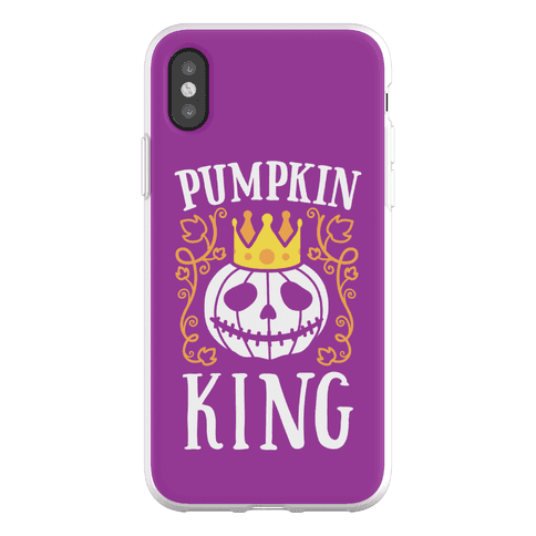 Pumpkin King Phone Flexi-Case