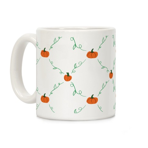 Tiny Pumpkin Pattern Coffee Mug