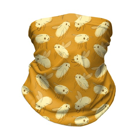 Bee Fly Pattern Neck Gaiter