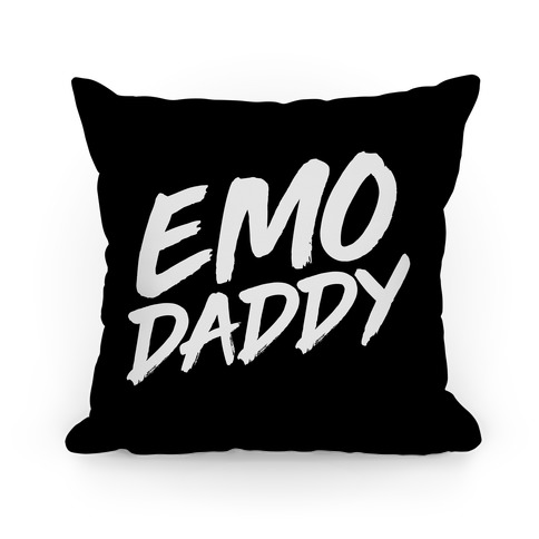 Emo Daddy Pillow