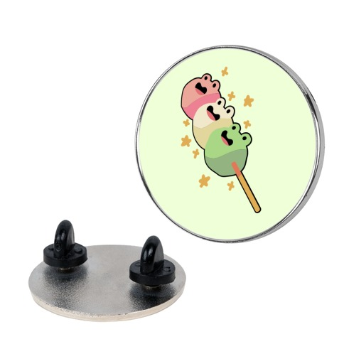 Frog Dango Pin