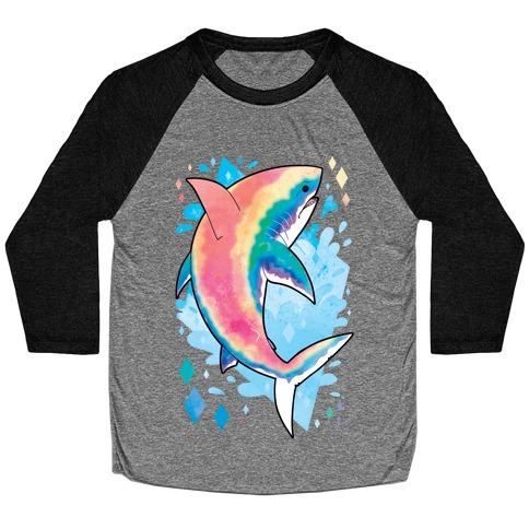 Pride Sharks: Gay Baseball Tee