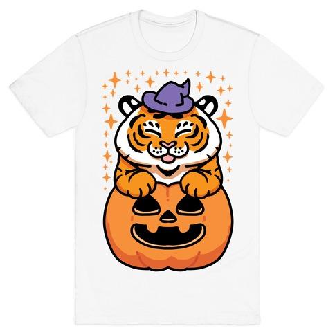 Cute Halloween Tiger T-Shirt