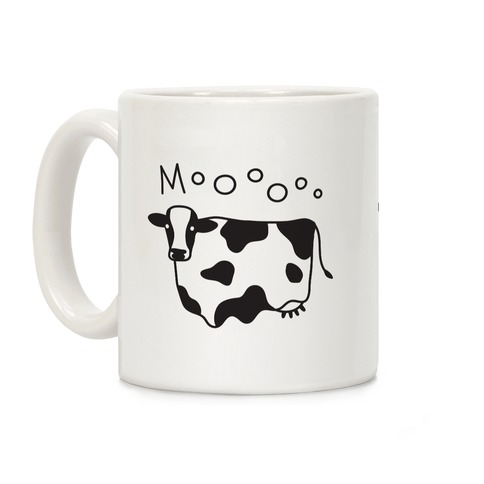 Moo Ghost Cow Coffee Mug